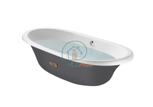 Ванна Roca Newcast Grey (170х85) 233650000